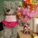 Get well goodies from my mom and daughter.