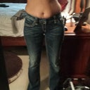 2 wks prior to sx in my favorite jeans.  Can not wait to get rid of the muffin top