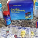 My 7 Day GENTLE Cleanse System including a Morning and Evening Supplements to take, Probiotic-Acidophilus Capsules, Fiber and Prebiotic Blend Packets and Pre-Diet Cleanse Drinks that are quite yummy! WOOHOO #TeamCompletelyHealthy