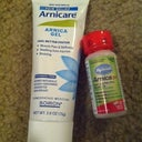 Arnica Gel and Pills to help with bruises and swelling