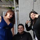 Me, brother, an sister. By the way hate taking pictures but I did cause I was dressed up. haha