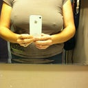 this was January '12 two days before surgery. Notice how my right nipple is 2 inches lower than my left (picture got reversed in mirror).