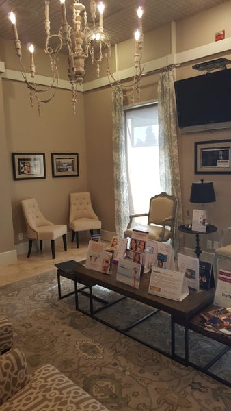 Patient reception area in our Metairie office.