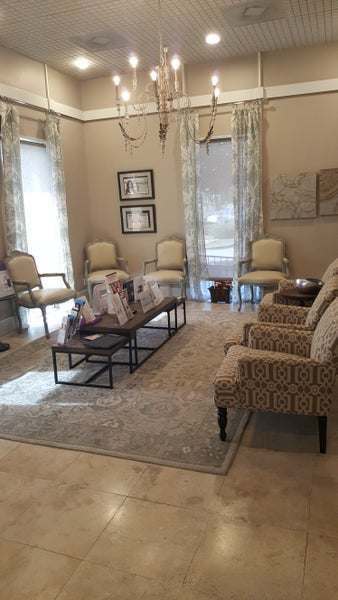 Patient reception area at our Metairie office.
